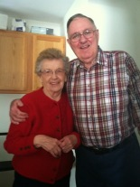 Kathy's 86 y/o Uncle Ralph and his wife Agnes (88)